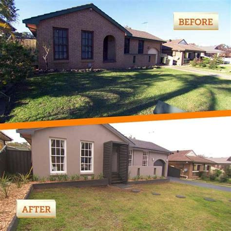 house facade renovation before and after 17 best images about house facade curb appeal on pinterest