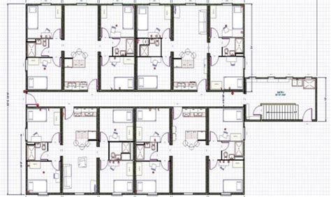 8 Plex Apartment Plans | awesome 8 plex apartment plans pictures building plans