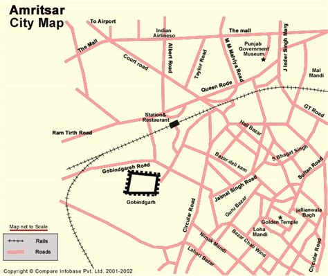amritsar maps facts and maps