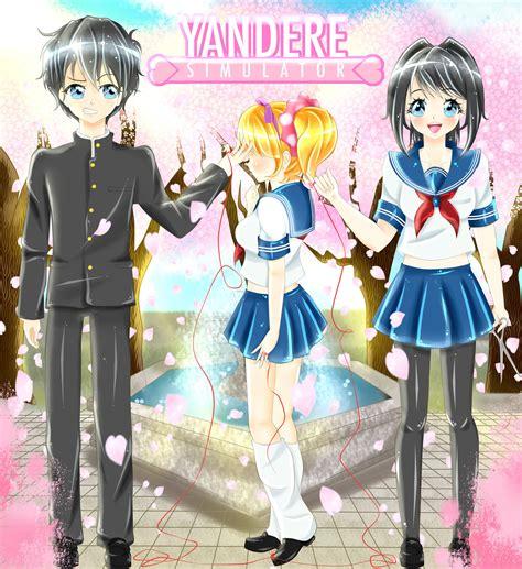 imagenes de anime yandere simulator yandere simulator yandere x senpai x tsundere by