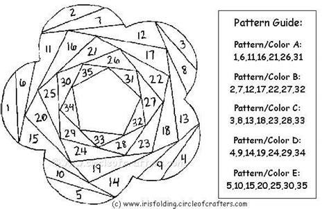 Iris Paper Folding Free Patterns - iris folding flower paper 183 a papercraft 183