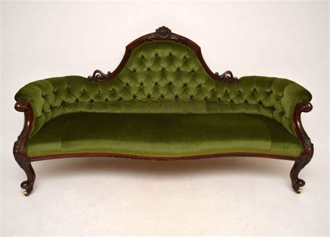 mahogany sofa antique antique victorian mahogany sofa la48770 loveantiques com