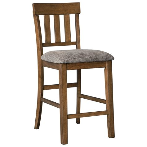 Royal Furniture Bar Stools by Benchcraft By Flaybern Casual Upholstered Barstool