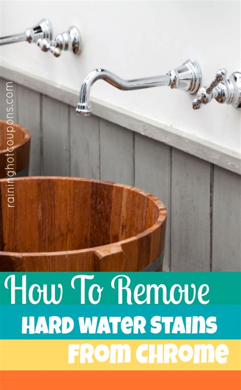 how to remove hard water stains from bathtub how to remove hard water stains from chrome