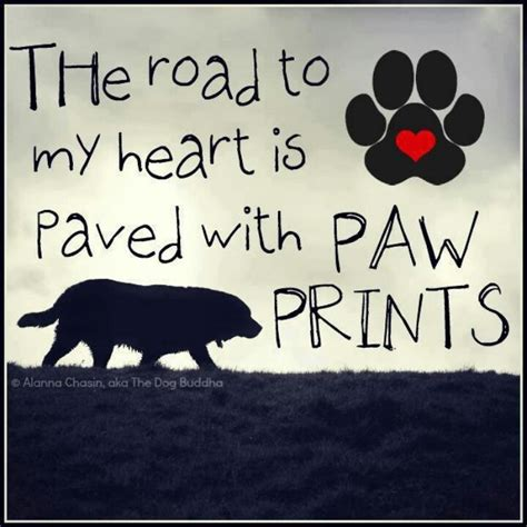 printable dog quotes quotes about paw prints quotesgram