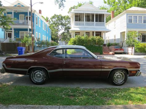 1976 plymouth duster for sale plymouth duster sedan 1976 burgundy for sale xfgiven vin