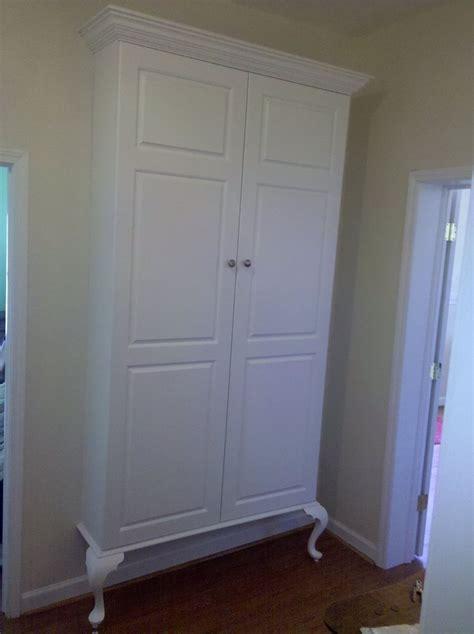custom built in storage cabinet by john kizer s fine