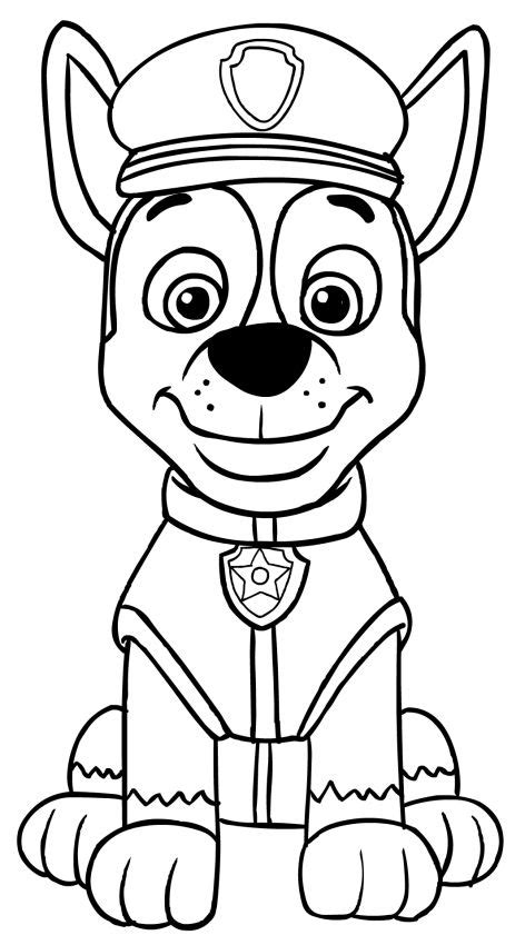 paw patrol spring coloring pages paw patrol chase coloring pages восточный гороскоп