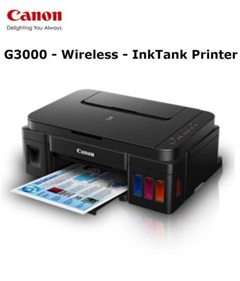 Canon G3000 Printer canon pixma g3000 multi function print scan copy all in