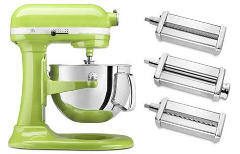 KitchenAid Stand Mixer and Pasta Set