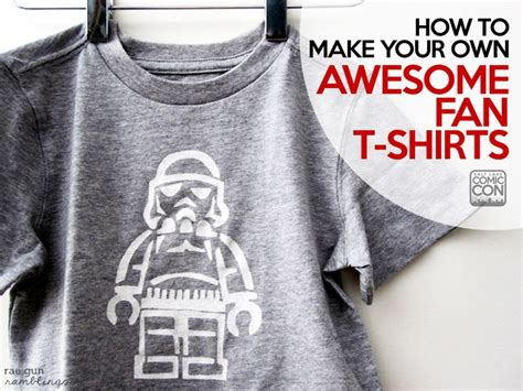 How To Make Transfer Paper For T Shirts - how to make your own awesome fan t shirts freezer paper