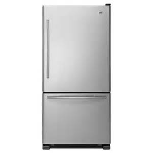 Refrigerator with single ice maker stainless steel energy star at