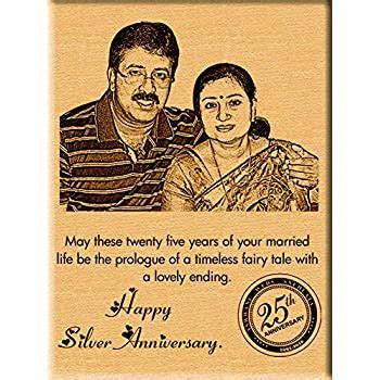 buy incredible gifts india  silver wedding anniversary