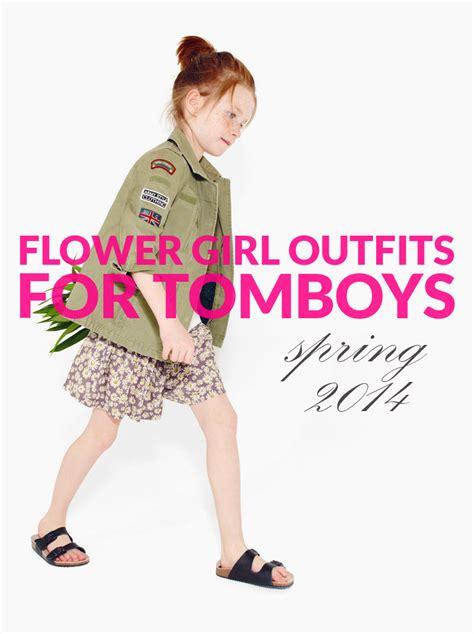 Tomboy Flower Girls: Spring