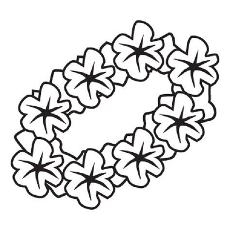 coloring pages hawaiian flowers hawaiian flower coloring page clipart best