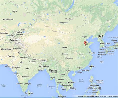 qufu  map  china