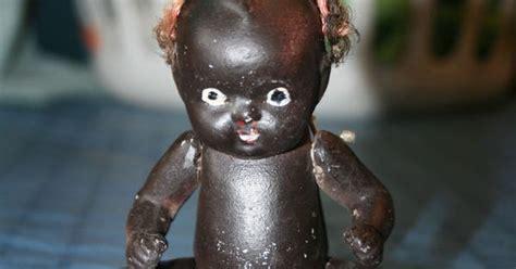 black kewpie doll vintage bisque black american jointed kewpie doll