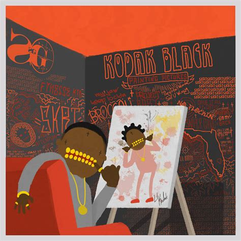 red house painters best album kodak black reveals cover for painting pictures album xxl