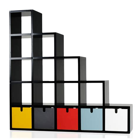 shelves and bookcases bookcase modular by kartell