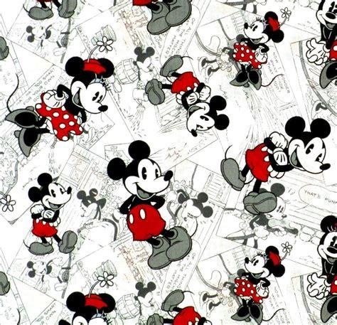 imagenes vintage mickey rare nouveau tissu patchwork enfant disney minie