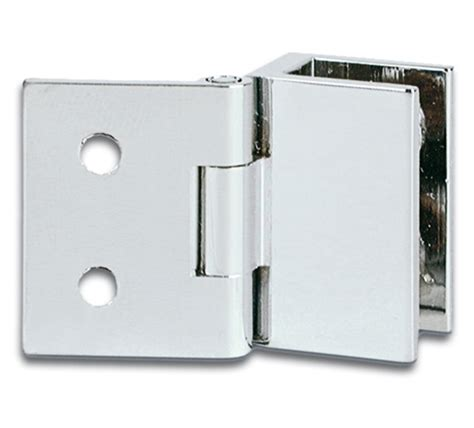 Hinges For Glass Cabinet Doors Cabinet Glass To Wall Hinge For Inset Doors 19 X 25mm The Wholesale Glass Company