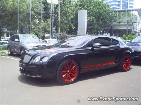 bentley indonesia bentley continental spotted in jakarta indonesia on 08 05