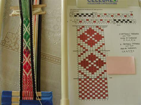 pattern inkle loom inkle weaving patterns free patterns