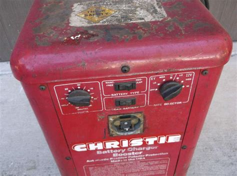christie charger buy vintage 60 s christie 6 12 volt battery charger