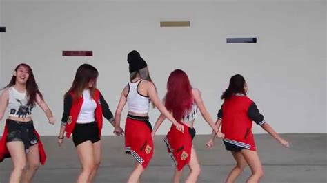 dance tutorial ah yeah exid bloopers exid ah yeah dance cover bts behind the