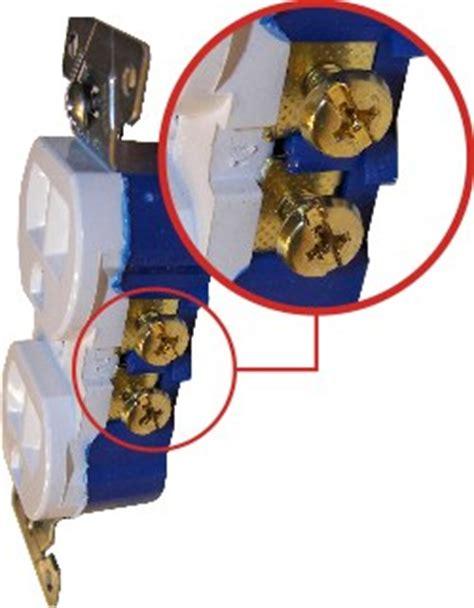 wire  split receptacle