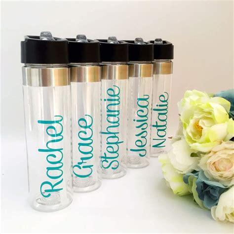 name arrow wedding drink bottle water bottle