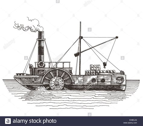 steam boat drawing steamboats drawing www pixshark images galleries