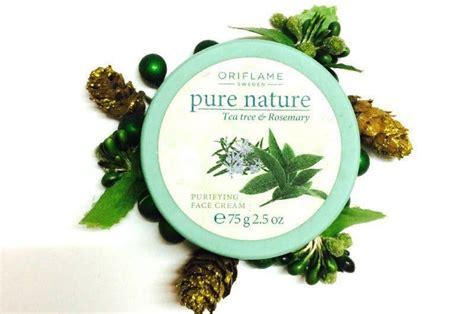 Aneka Nature Facecream Oriflame oriflame nature tea tree rosemary purifying review