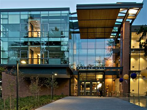 U Washington Mba Ranking by Paccar Foster School Of Business Of
