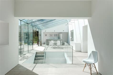 glass house winchester residence  architect