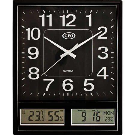 analog and digital wall clock analog digital wall clock