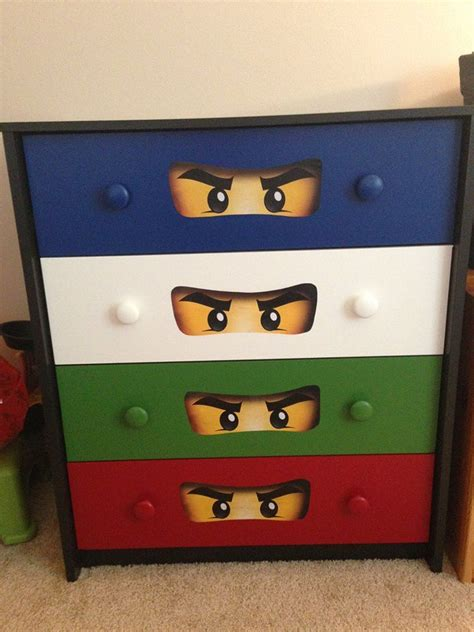 ninjago bedroom ninjago dresser satin behr ultra printed ninjango eyes