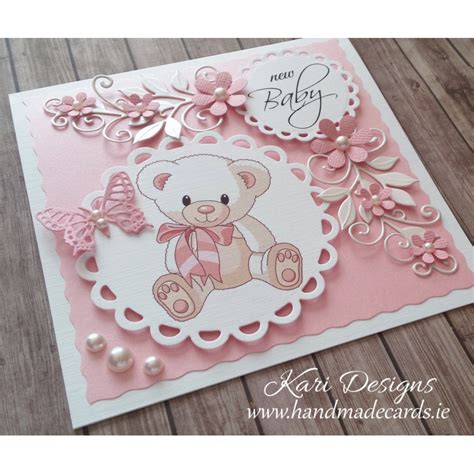 Handmade New Baby Cards - handmade new baby boy card
