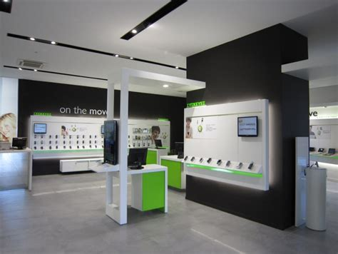 3 mobile store cosmote mobile store by kvb design athens greece
