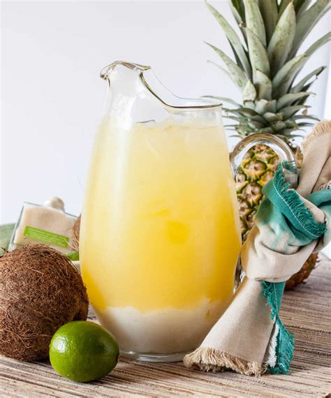 pineapple margarita coconut pineapple margarita basil and bubbly