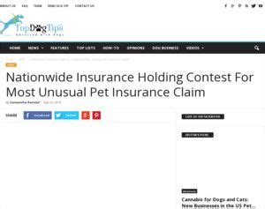 nationwide insurance holding contest for most pet