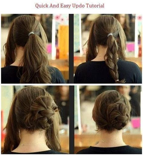 easy to maintain hairstyles that go back behind the ear 25 five minute or less hairstyles that ll save you from