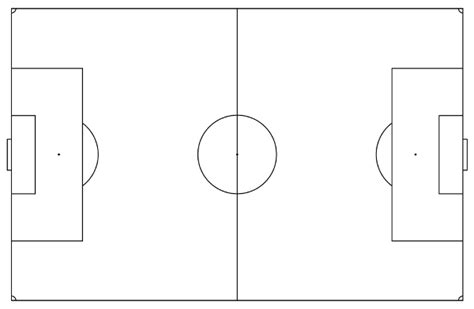 soccer pitch template printable soccer field diagram