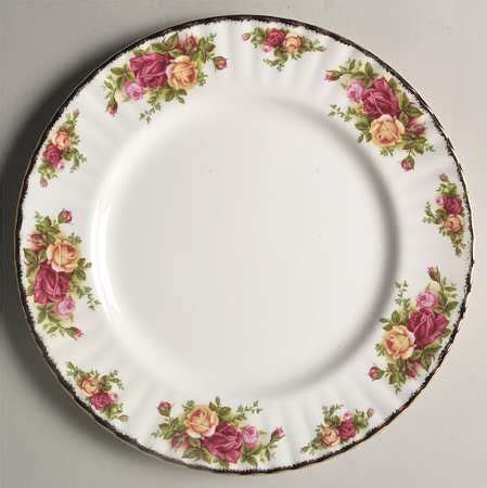 Dinner Set Flower Series 16 S royal albert country roses at replacements ltd page 16