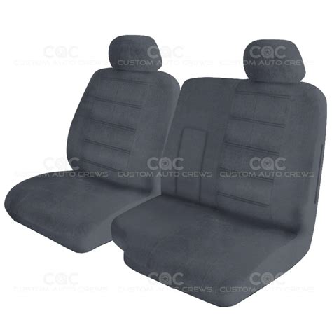 split bench seat cover pickup 60 40 split bench premium regal custom seat cover detachable headrest ebay