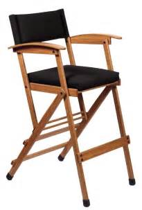 Hollywood chairs by totally bamboo 32 inch tall elm director chair