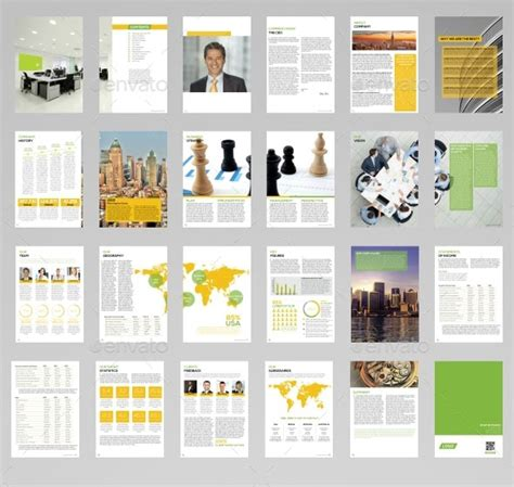 report design templates 40 best corporate indesign annual report templates web
