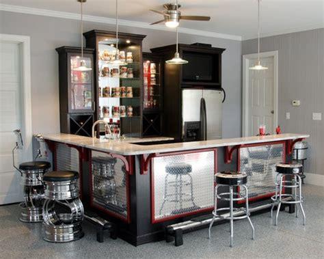 garage bar houzz