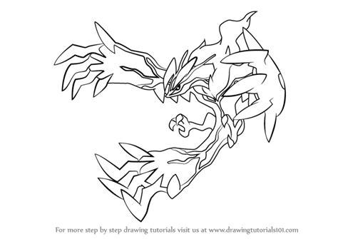 learn draw yveltal pokemon pokemon step step drawing tutorials