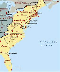 us map east coast cities adventures in ny boston and elsewhere predictions for